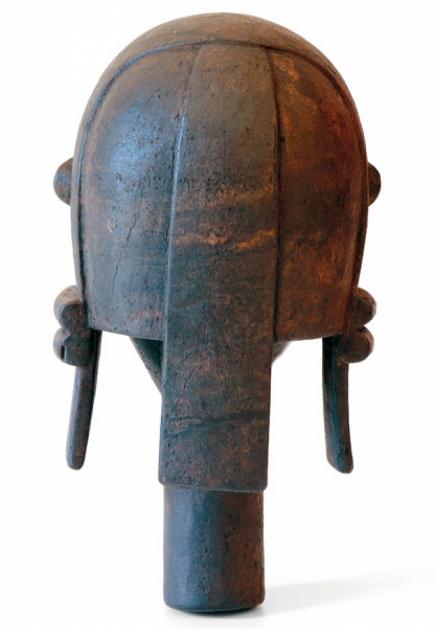 Monumental Byeri ancestor head