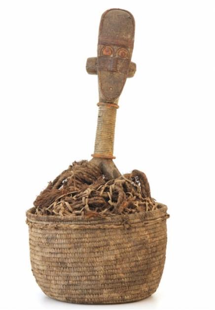 Ancestor Figure with Reliquary Basket