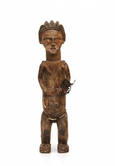 Mbete Female Reliquary Figure