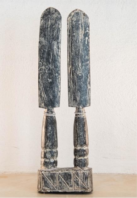 Akua'maa Fertility twin figures