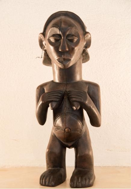 Luba Female figure