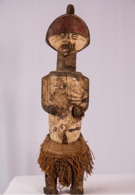 Mbete Reliquary Female Figure