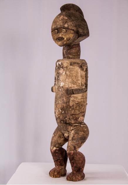Mbete Reliquary male Figure